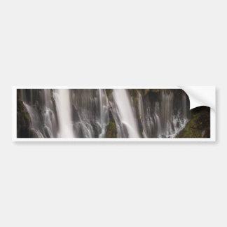 Over the Edge Burney Falls Bumper Sticker