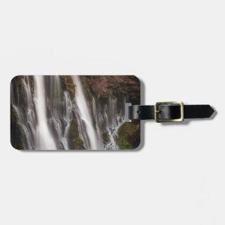 Over the Edge Burney Falls Luggage Tag