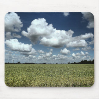 Over the fields we go mouse pad