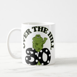 Over The Hill 30th Birthday Coffee Mug