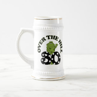 Over The Hill 30th Birthday Mugs