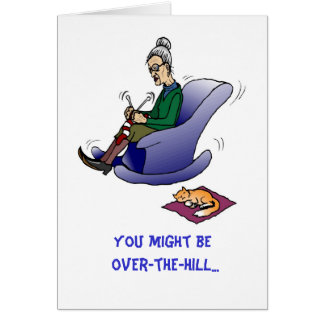 Over-The-Hill, Birthday Card