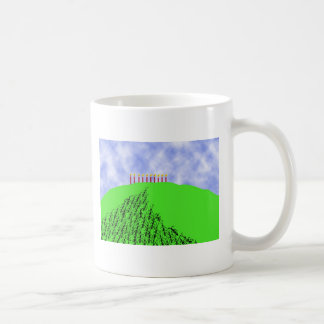 Over the Hill Birthday Classic White Coffee Mug