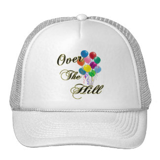 Over The Hill Birthday Hat & Birthday Caps