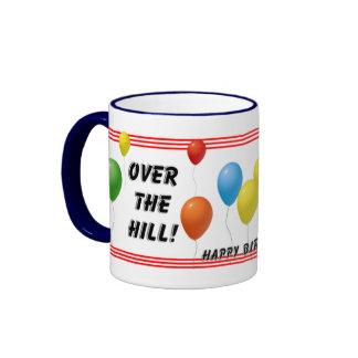 Over The Hill Birthday Coffee Mug