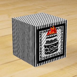 Over The Hill Birthday Party Party Favor Boxes