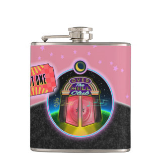 Over The Hill Club Flask