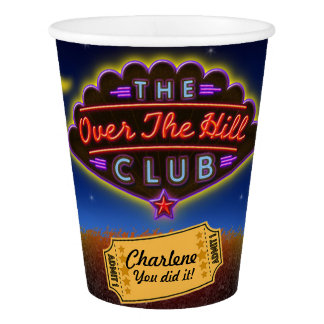 Over The Hill Club Party Cup