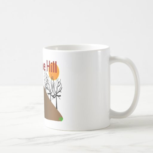 """""""Over The Hill"""" Funny Birthday Gifts Coffee Mugs"""