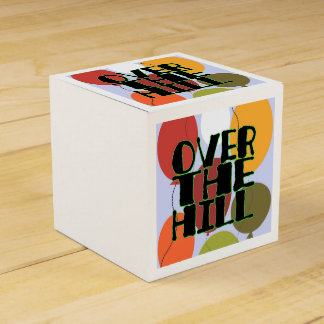 Over the hill gift boxes party favor box