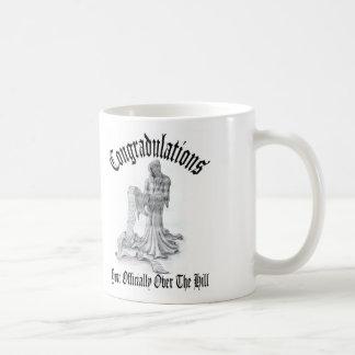 Over the hill, mug