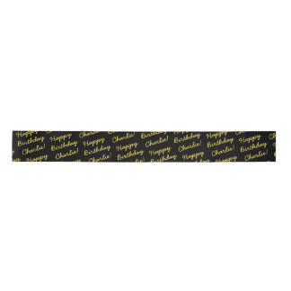 Over The Hill Ribbon Satin Ribbon