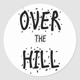 """Over the Hill"" Stickers"