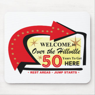 Over The Hillville 50 Mouse Pad