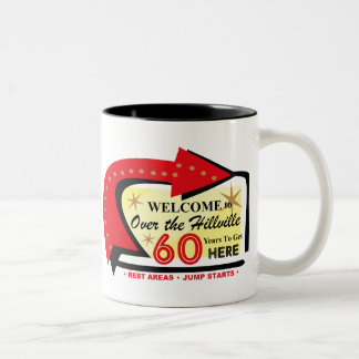 Over The Hillville 60 Two-Tone Coffee Mug