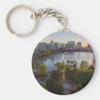 Over The Lake Keychain