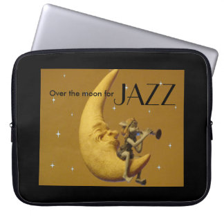 Over the moon for Jazz Laptop Sleeve