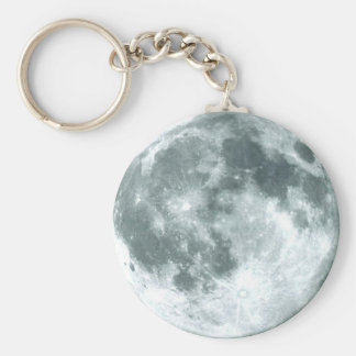 OVER THE MOON Zipper-Pull Keychain