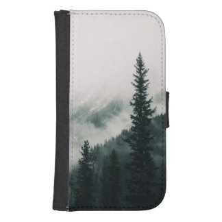 Over the Mountains and trough the Woods Samsung S4 Wallet Case