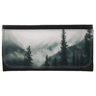 Over the Mountains and trough the Woods Wallets For Women
