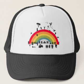 Over The Rainbow Trucker Hat