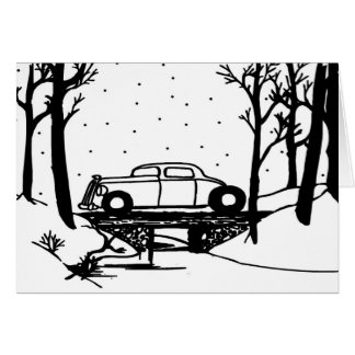 Over The River Christmas Card By Gear4gearheads