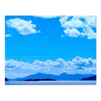 Over the Sea to Skye Postcard