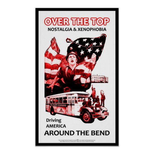 Over the Top & Around the Bend Print
