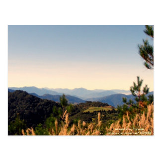 Over the Yonder/Nature Mountain Ranges Postcard
