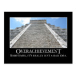 Overachievement is really a bad idea