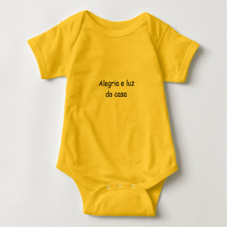 Overalls Joy - Yellow Baby Bodysuit