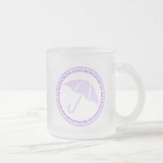 Overcast Kids Never Die Frosted Mug