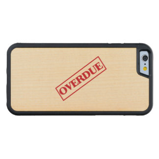 Overdue Stamp - Red Ink Maple iPhone 6 Bumper Case