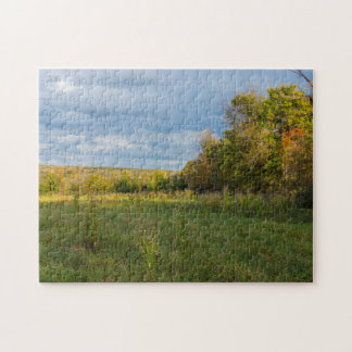 Overgrown Autumn Countryside Jigsaw Puzzle