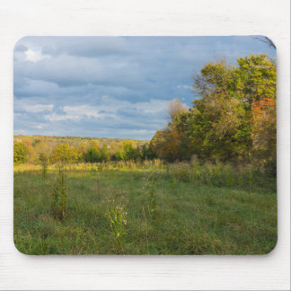 Overgrown Autumn Countryside Mouse Pad