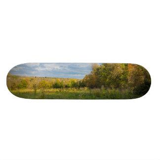 Overgrown Autumn Countryside Skate Decks
