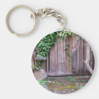 Overgrown Shed Basic Round Button Keychain
