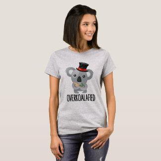 Overkoalafied Pun Cute Koala in Top Hat