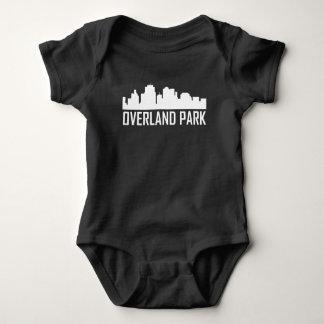 Overland Park Kansas City Skyline Baby Bodysuit