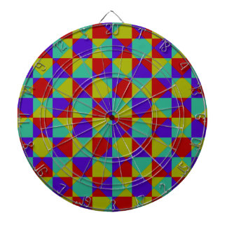 Overlapping Checker Dartboard