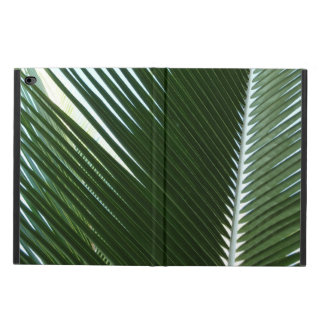 Overlapping Palm Fronds Tropical Green Abstract Powis iPad Air 2 Case