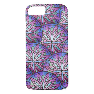 Overlapping Rose Window Phone Case