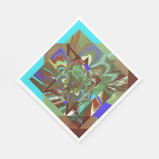 Overlay Abstract Exciting Design Paper Napkin