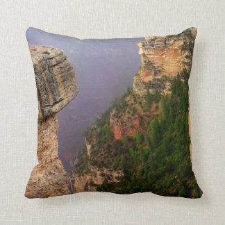 Overlook at Grand Canyon National Park Throw Pillow