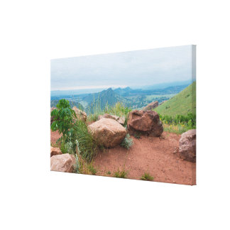 Overlook at Red Rocks Park Canvas Print