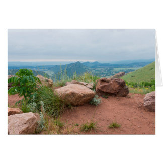Overlook at Red Rocks Park Card