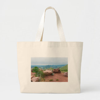 Overlook at Red Rocks Park Large Tote Bag