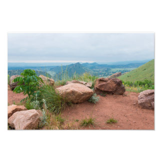 Overlook at Red Rocks Park Photo Print