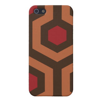 Overlook hotel carpet pattern iphone case