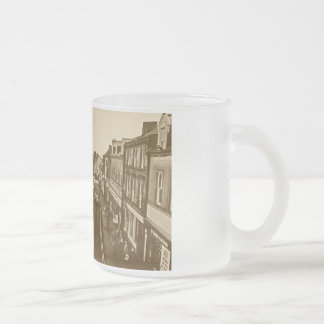 Overlooking Berwick-Upon-Tweed Frosted Glass Coffee Mug
